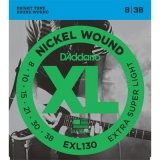 D'Addario EXL130 Nickel Wound 8-38